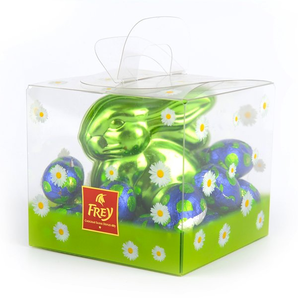 easter bunny custom plastic packaging for food