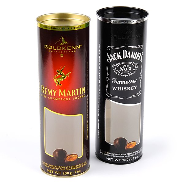 plastic tube packaging for spirits