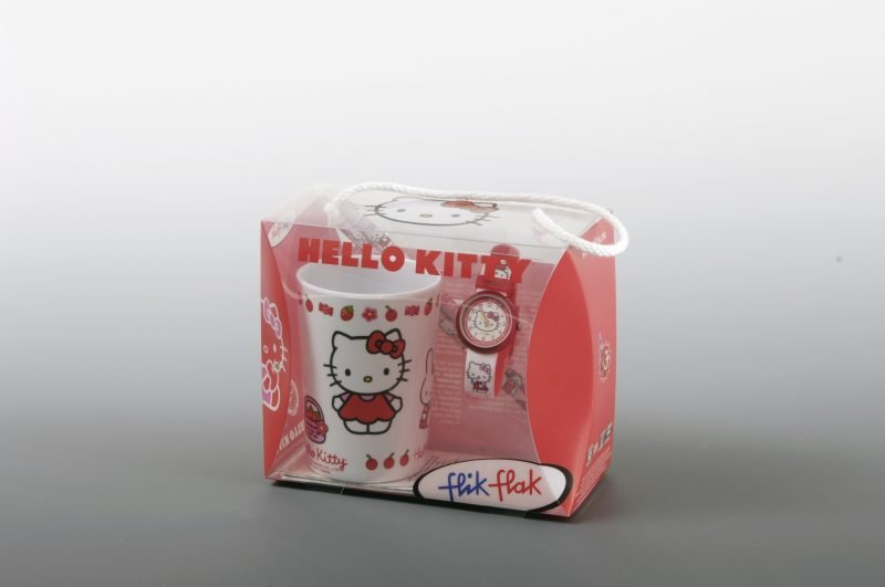 hello kitty acetate gift box