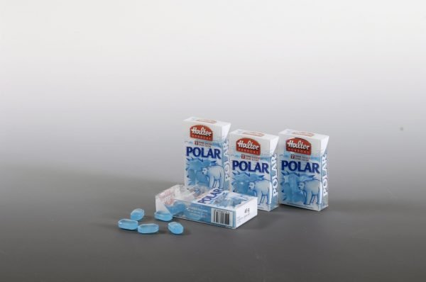clear acetate boxes with mints
