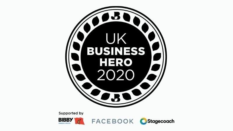 uk business hero 2020 badge