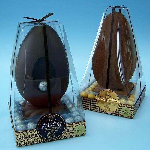 waitrose luxury easter egg acetate box packaging